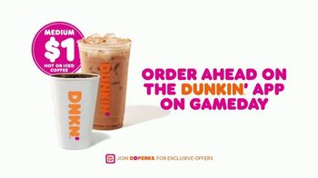 Dunkin' DD Perks TV Spot, 'Eagles Fans: $1 Hot or Iced Coffee' - Thumbnail 8