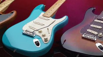 Guitar Center TV Spot, 'This Holiday Make Music: Fender Guitars and Taylor Acoustic' - Thumbnail 3