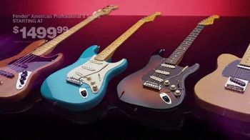 Guitar Center TV Spot, 'This Holiday Make Music: Fender Guitars and Taylor Acoustic' - Thumbnail 6