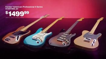 Guitar Center TV Spot, 'This Holiday Make Music: Fender Guitars and Taylor Acoustic' - Thumbnail 7