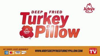Arby's Deep Fried Turkey Pillow TV Spot, 'Greatest Turkey Sleep of All Time' - Thumbnail 7