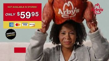 Arby's Deep Fried Turkey Pillow TV Spot, 'Greatest Turkey Sleep of All Time' - Thumbnail 4