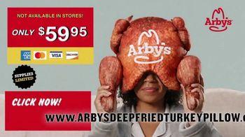 Arby's Deep Fried Turkey Pillow TV Spot, 'Greatest Turkey Sleep of All Time' - Thumbnail 5