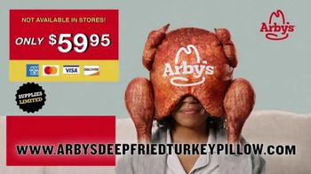 Arby's Deep Fried Turkey Pillow TV Spot, 'Greatest Turkey Sleep of All Time' - Thumbnail 6