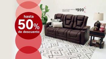 Ashley HomeStore Venta de Black Friday TV Spot, '50% de descuento y 10% adicional' [Spanish] - Thumbnail 3