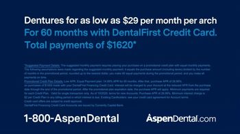 Aspen Dental TV Spot, 'Get New Dentures: Total Payments of $1,620' - Thumbnail 6