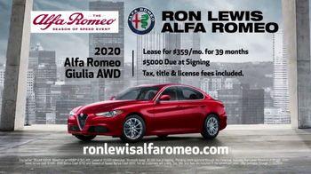 Alfa Romeo Season of Speed Event TV Spot, 'Control' Song by Emmit Fenn [T2] - Thumbnail 7