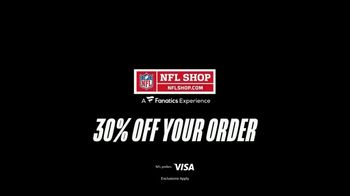 NFL Shop TV Spot, 'Make the Colors Hit: 30%' Song by KYLE, K CAMP, Rich the Kid - Thumbnail 10