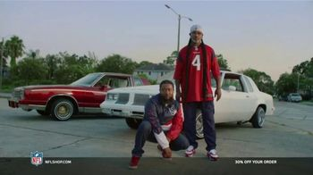 NFL Shop TV Spot, 'Make the Colors Hit: 30%' Song by KYLE, K CAMP, Rich the Kid - Thumbnail 5