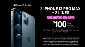 T-Mobile TV Spot, 'A Moment Like This: Two iPhone 12 Pro Max' Song by Surfaces - Thumbnail 8