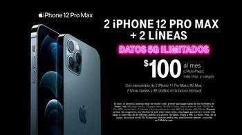 T-Mobile TV Spot, 'iPhone 12 Pro Max y dos líneas: $100 dólares' canción de Surfaces [Spanish] - Thumbnail 7