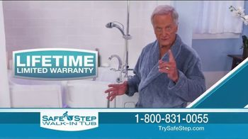 Safe Step Hybrid Tub TV Spot, 'Holidays: New Level' Featuring Pat Boone
