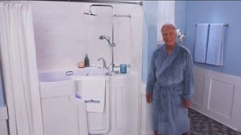 Safe Step Hybrid Tub TV Spot, 'Holidays: New Level' Featuring Pat Boone - Thumbnail 1