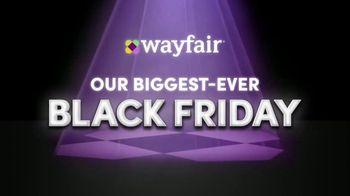 Wayfair TV Spot, \'Black Friday: Rugs, Living Room Seating and Appliances\'