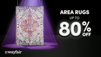 Wayfair TV Spot, 'Black Friday: Rugs, Living Room Seating and Appliances' - Thumbnail 4