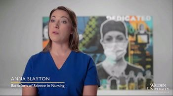Walden University TV Spot, 'Shine On: Anna Slayton' - Thumbnail 4