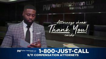 Parker Waichman TV Spot, 'Thank You Cards: 9/11 Victims Paperwork' - Thumbnail 2