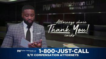 Parker Waichman TV Spot, 'Thank You Cards: 9/11 Victims Paperwork' - Thumbnail 3