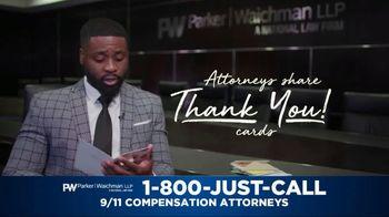Parker Waichman TV Spot, 'Thank You Cards: 9/11 Victims Paperwork' - Thumbnail 4