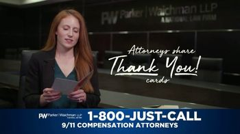Parker Waichman TV Spot, 'Thank You Cards: 9/11 Victims Compensation Claim' - Thumbnail 2