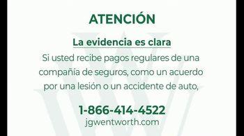 J.G. Wentworth TV Spot, 'Atención' [Spanish]