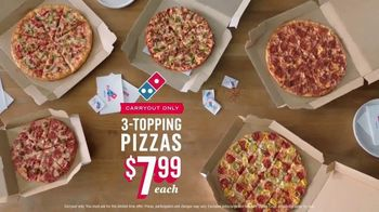 Domino's TV Spot, 'Carry Out Any Crust' - Thumbnail 8