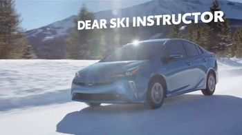 Toyota TV Spot, 'Dear Ski Instructor' [T2] - Thumbnail 1