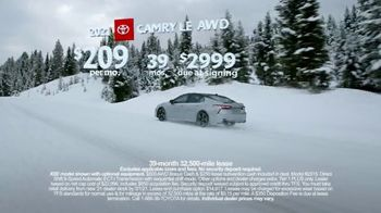 Toyota Run the Numbers Winter Event TV Spot, 'Start With Four: Camry' [T2] - Thumbnail 8