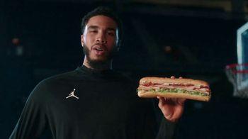 Subway TV Spot, 'Talking Serious Flavor' Featuring Draymond Green, Jayson Tatum - Thumbnail 4