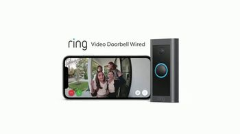Ring Video Doorbell Wired TV Spot, 'Never Miss a Moment' - Thumbnail 8