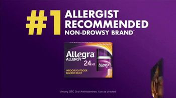 Allegra TV Spot, 'Millions of People: Allergy & Congestion' - Thumbnail 3