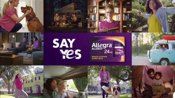 Allegra TV Spot, 'Millions of People: Allergy & Congestion' - Thumbnail 9