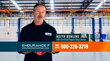 Endurance Advantage TV Spot, 'Don't Risk Paying Thousands in Unexpected Auto Repairs'