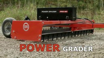 DR Power Grader TV Spot, 'Take Control of Your Driveway'