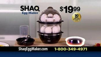 Shaq Egg Maker TV Spot, 'You're Gonna Love This' Featuring Shaquille O'Neal - Thumbnail 9