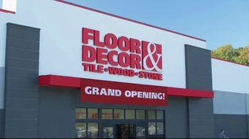 Floor & Decor TV Spot, 'Grand Opening: McKinney' - Thumbnail 2