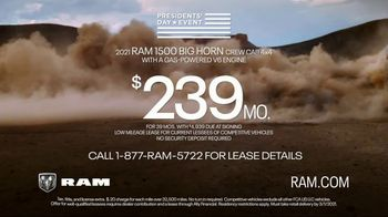Ram Trucks Presidents Day Event TV Spot, 'Great Deals' Song by Foo Fighters [T2] - Thumbnail 6
