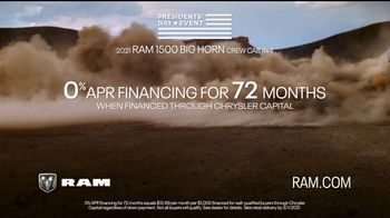 Ram Trucks Presidents Day Event TV Spot, 'Like Never Before' Song by Foo Fighters [T2] - Thumbnail 7