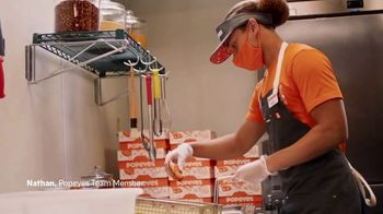 Popeyes TV Spot, 'Inside the Popeyes Kitchen: Nathan' - Thumbnail 4