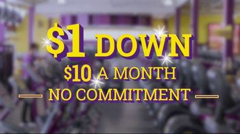 Planet Fitness TV Spot, 'Squeaky Clean: $1 Down' - Thumbnail 6