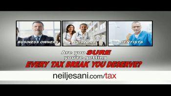 Neil Jesani TV Spot, 'Every Tax Break'