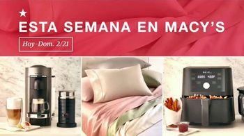 Macy's TV Spot, 'Esta Semana en Macy's: Zapatos, utensilios de cocina y sábanas' [Spanish] - Thumbnail 2