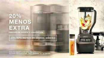 Macy's TV Spot, 'Esta Semana en Macy's: Zapatos, utensilios de cocina y sábanas' [Spanish] - Thumbnail 3