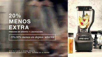 Macy's TV Spot, 'Esta Semana en Macy's: Zapatos, utensilios de cocina y sábanas' [Spanish] - Thumbnail 4