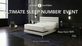 Ultimate Sleep Number Event TV Spot, 'Weekend Special: Save 50% and Free Delivery' - Thumbnail 1