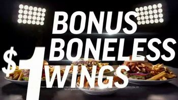 Applebee's $1 Bonus Boneless Wings TV Spot, 'With Any Hand-Crafted Burger' Song by Smash Mouth - Thumbnail 8