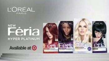 L'Oreal Paris Hair Care Féria Hyper Platinum TV Spot, 'Next Level Blonde' - Thumbnail 8