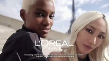 L'Oreal Paris Hair Care Féria Hyper Platinum TV Spot, 'Next Level Blonde' - Thumbnail 3