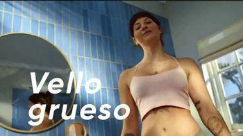 Venus Pubic Hair and Skin Razor TV Spot, 'Piel delicada' [Spanish]