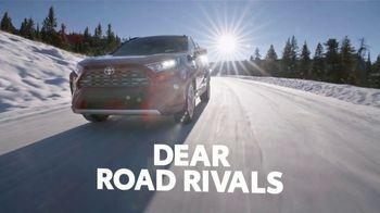 2021 Toyota RAV4 TV Spot, 'Dear Road Rivals: Sorry Not Sorry' [T2] - Thumbnail 1